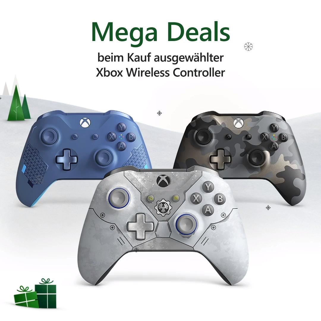 Jetzt Im Black Friday Sale Auf Ausgewählte Controller Sparen Video Xbox Sparen