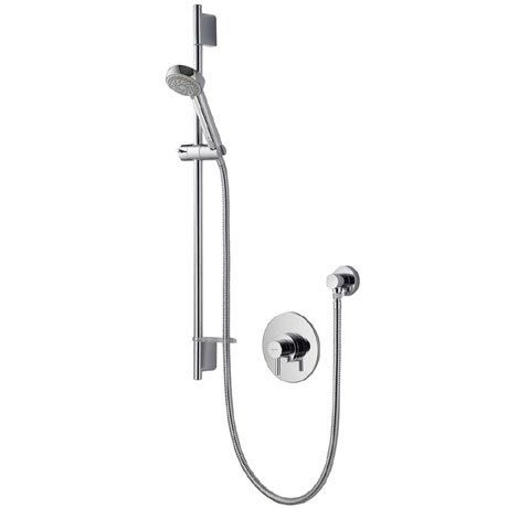 Aqualisa Siren Sl Concealed Thermostatic Shower Valve With Slide Rail Kit Srn001ca With Images Shower Valve Shower Concealed