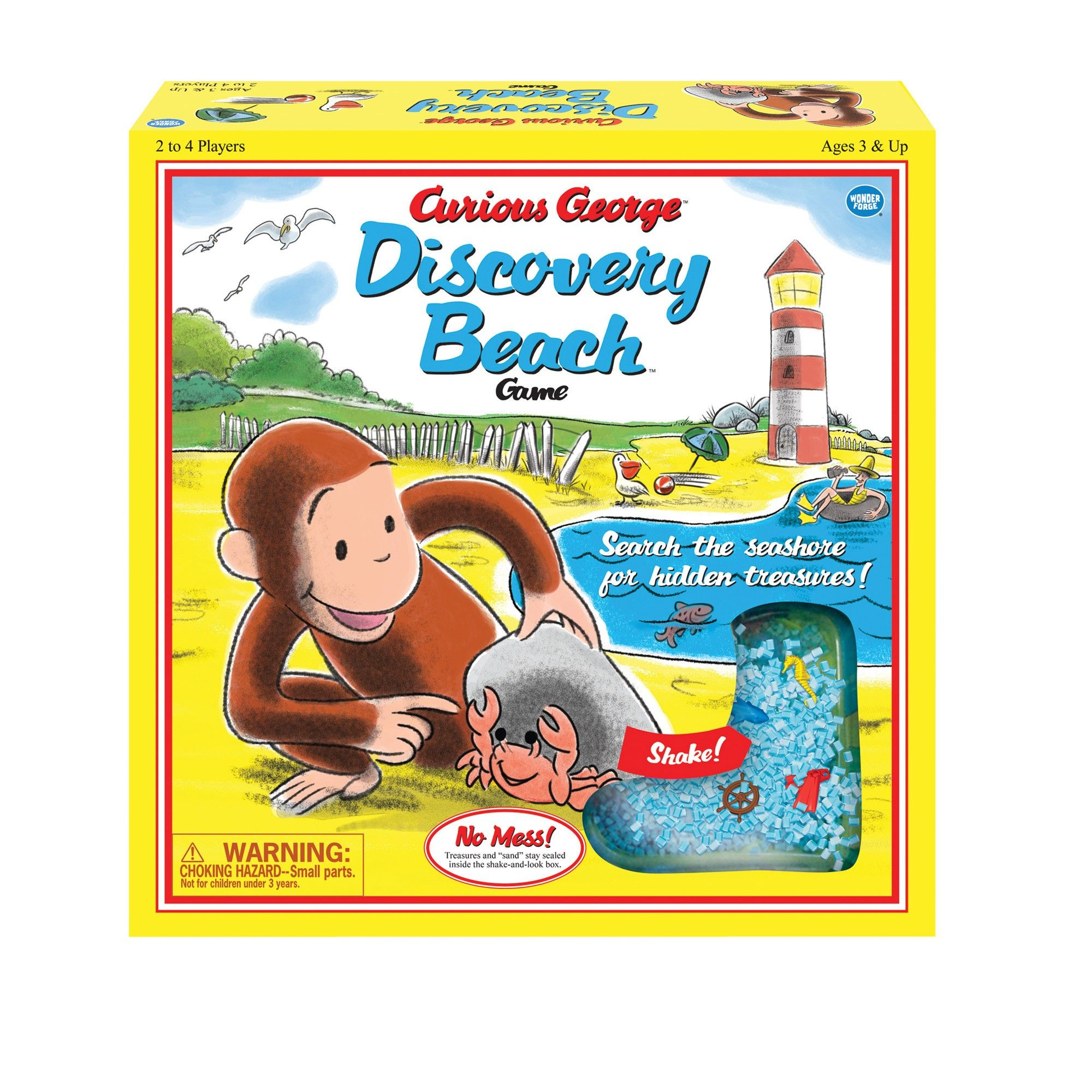 Curious Discovery Beach Vintage Edition Game from