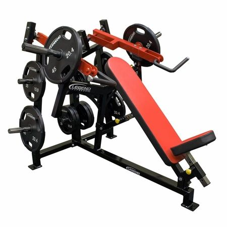 Legend fitness unilateral converging incline chest press