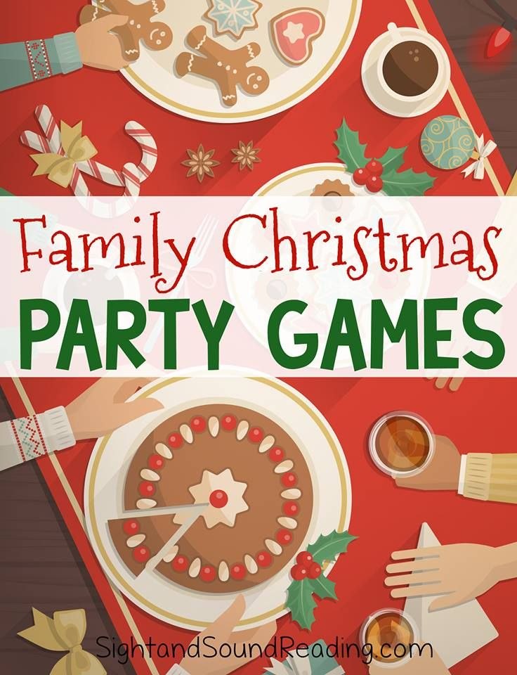 Family Christmas Party Games Festive and Jolly for the