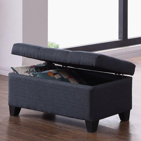 Groovy Worldwide Homefurnishings Inc Linen Look Fabric Storage Short Links Chair Design For Home Short Linksinfo