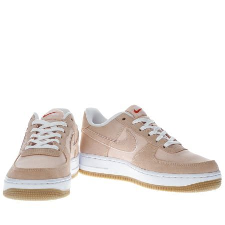 nike peach air force 1 girls youth