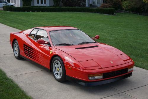 This 1990 Ferrari Testarossa Is A Gorgeous Original Example With