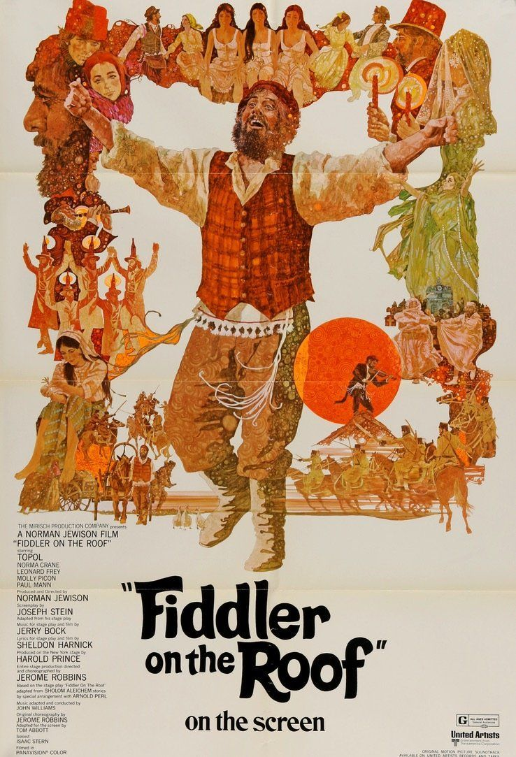 Fiddler on the Roof (1971) Fiddler on the roof, Classic