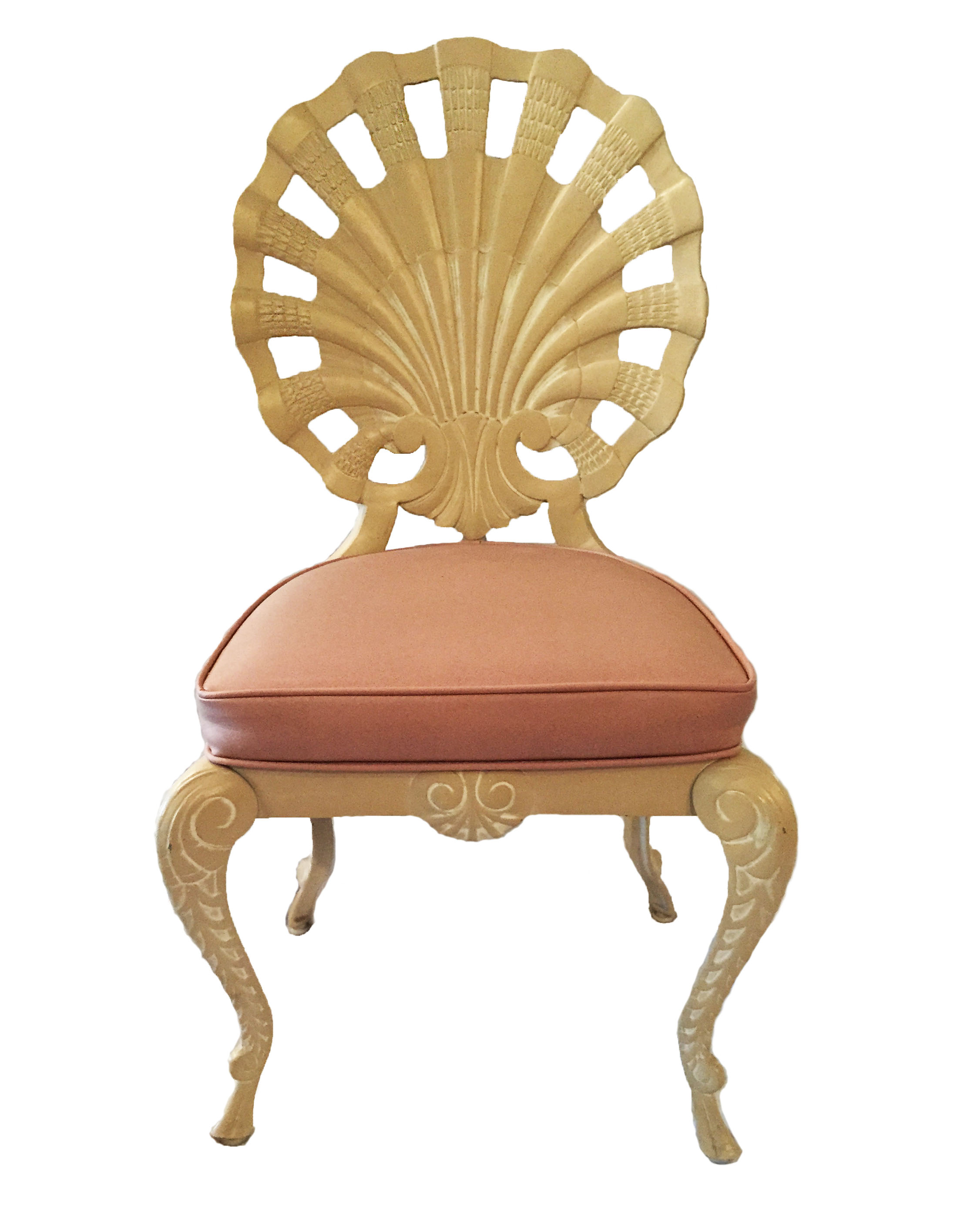 Brown-Jordan Grotto Scallop Shell Chairs Set of 6 on Chairish.com