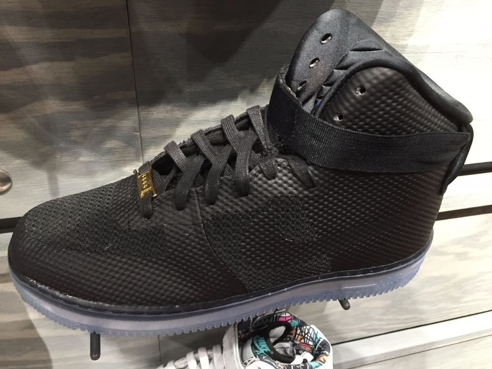 Nike Air Force 1 High CMFT Lux Black Ice 748280 001 Men Sizes