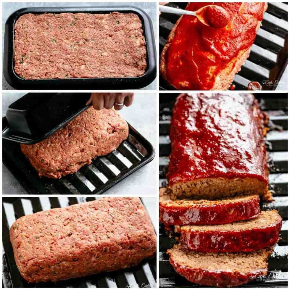 How To Make Meatloaf Cafedelites Com Meatloaf Oven Meatloaf How To Make Meatloaf