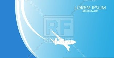 Traveling poster white silhouette of airplane 52804 download traveling poster white silhouette of airplane royalty free vector clip art image 52804 rfclipart freerunsca Image collections