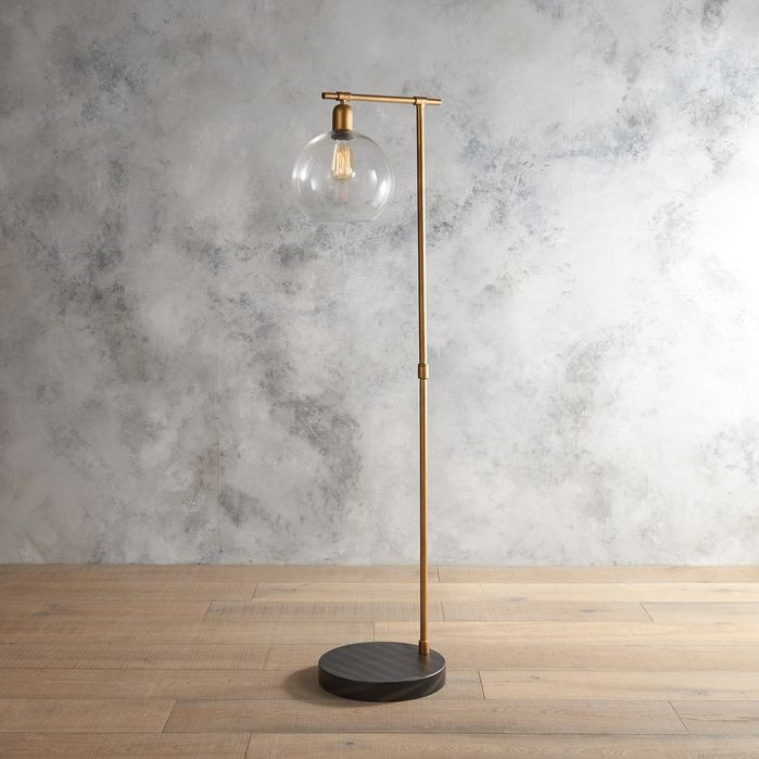Features Glass Shade Material Made Of Ceramic Distressed Yes Base Finish Gold Material Metal Glas Floor Lamp Glass Floor Lamp Gold Floor Lamp