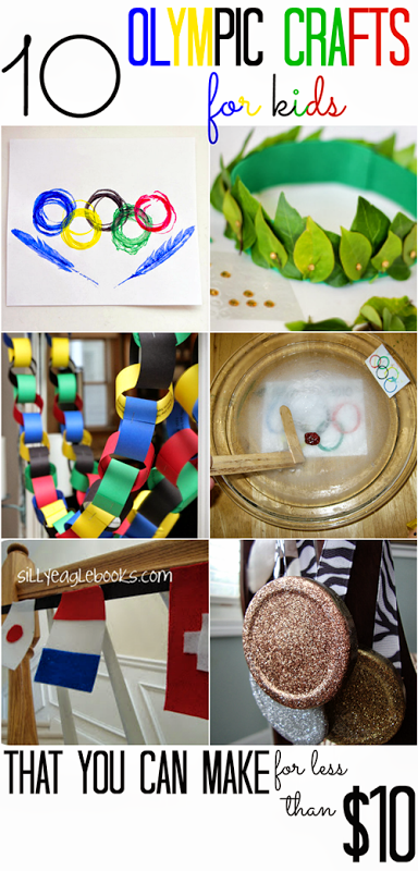 10 Olympics Crafts For Kids That You Can Make For Less Than 10