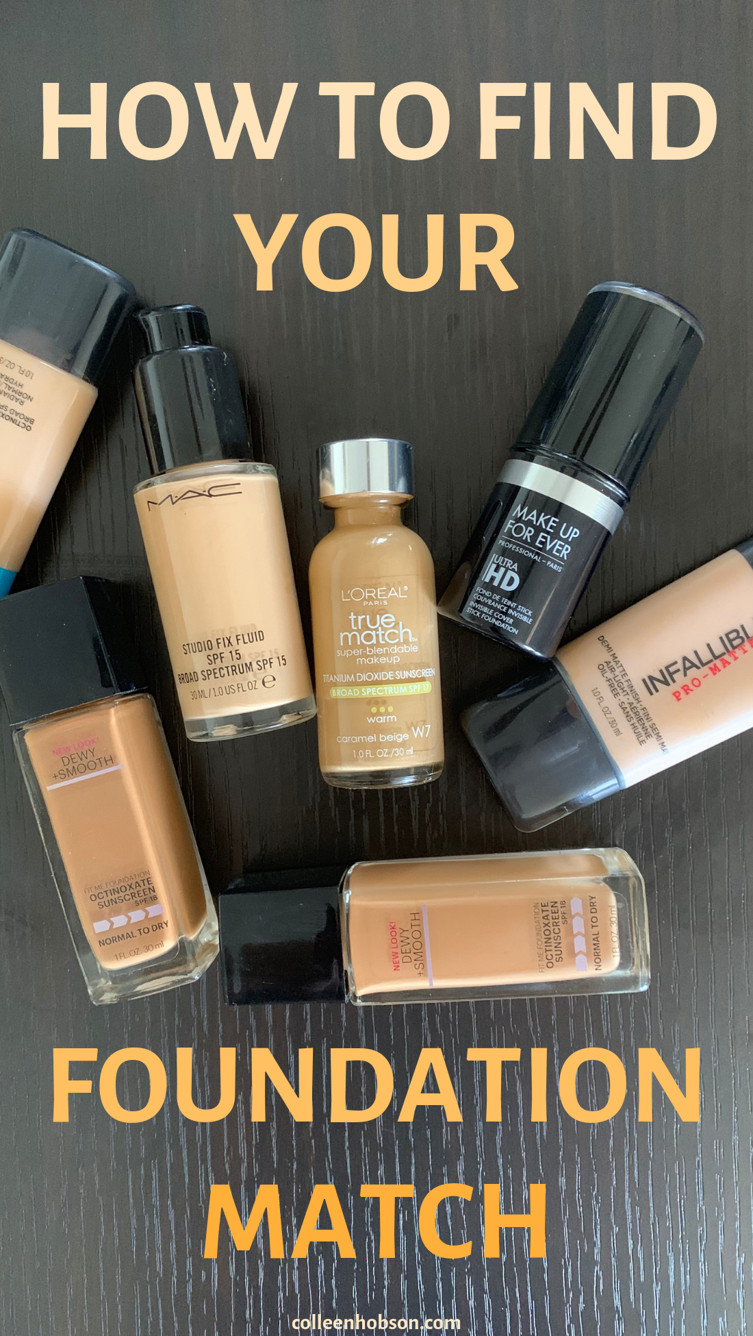 How To Find Your Foundation Match (With images) How to