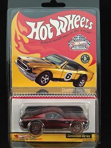 2007 Hot Wheels Nationals Convention Red Custom Mustang Redline