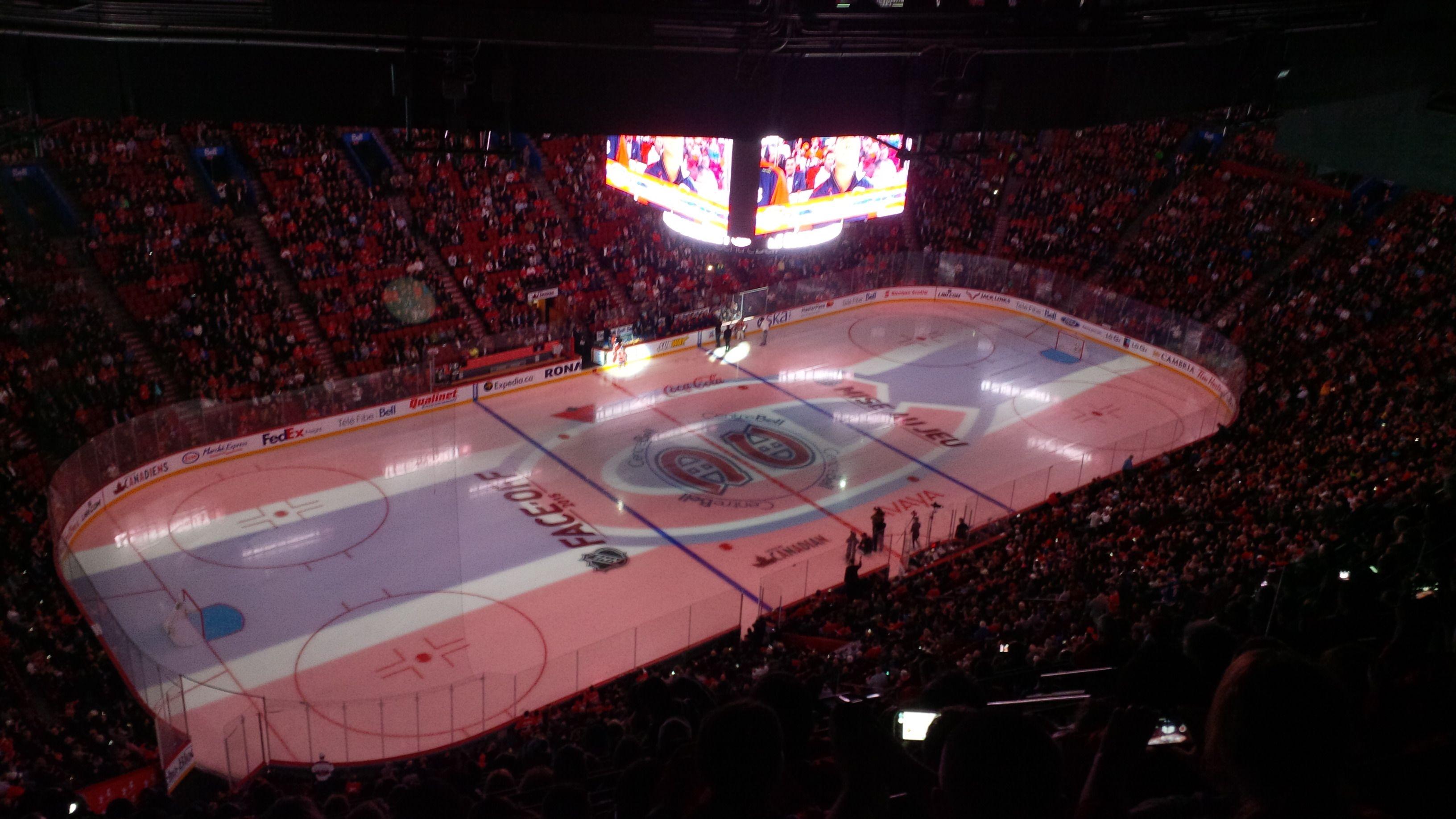 Présentation des joueurs,entraineurs et personnels du Canadiens.