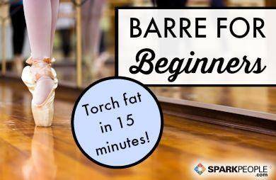 15-Minute Beginner Barre Workout | SparkPeople