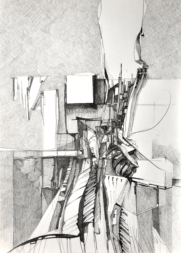 Drawing Re Posted From Drawing Architecture On Tumblr Architettura