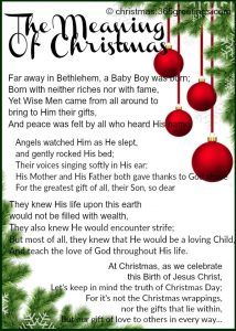 Short Inspirational Christmas Stories.Short Christmas Poems Inspirational Christmas Stories