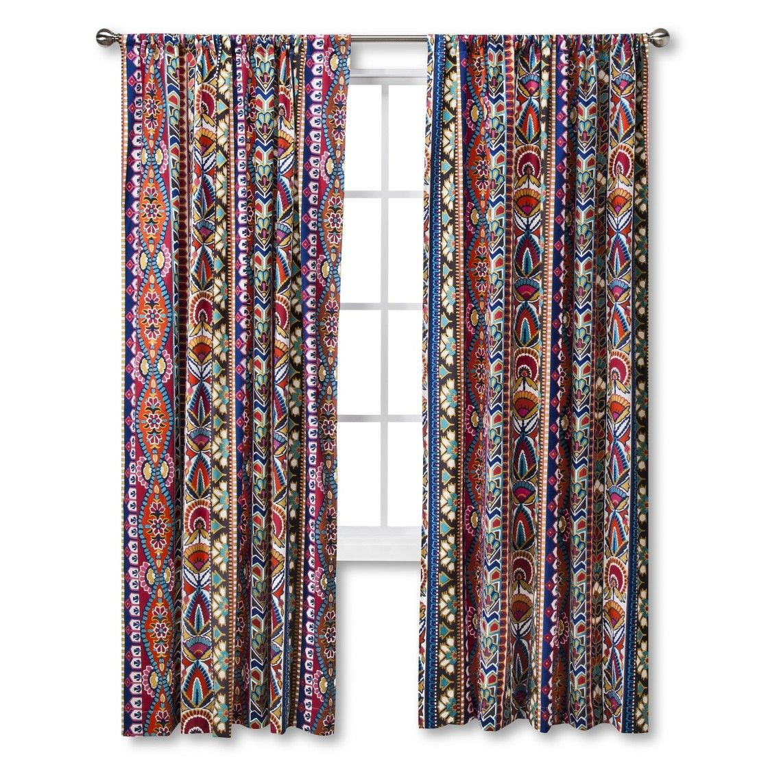 Burlap curtains are you kidding me what a backdrop - Mudhut Talavera Curtain Panel For Cuber Monday