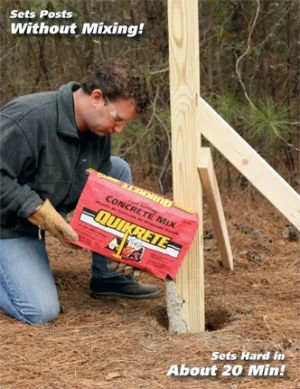 Photo of The Fastest (and Most Foolproof) Way to Install Fence Posts