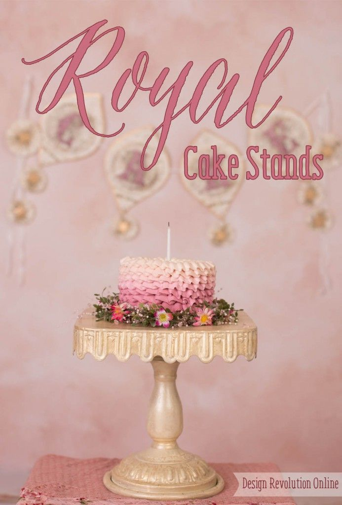 Looking for the perfect birthday cake stand? Look no more! These birthday props are gorgeous and versatile and the different size options are perfect for all sorts of cakes!