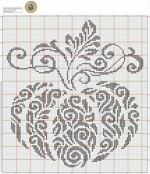 Pumpkin (Cross Stitch) | Cross stitch | Pinterest | Punto de cruz ...