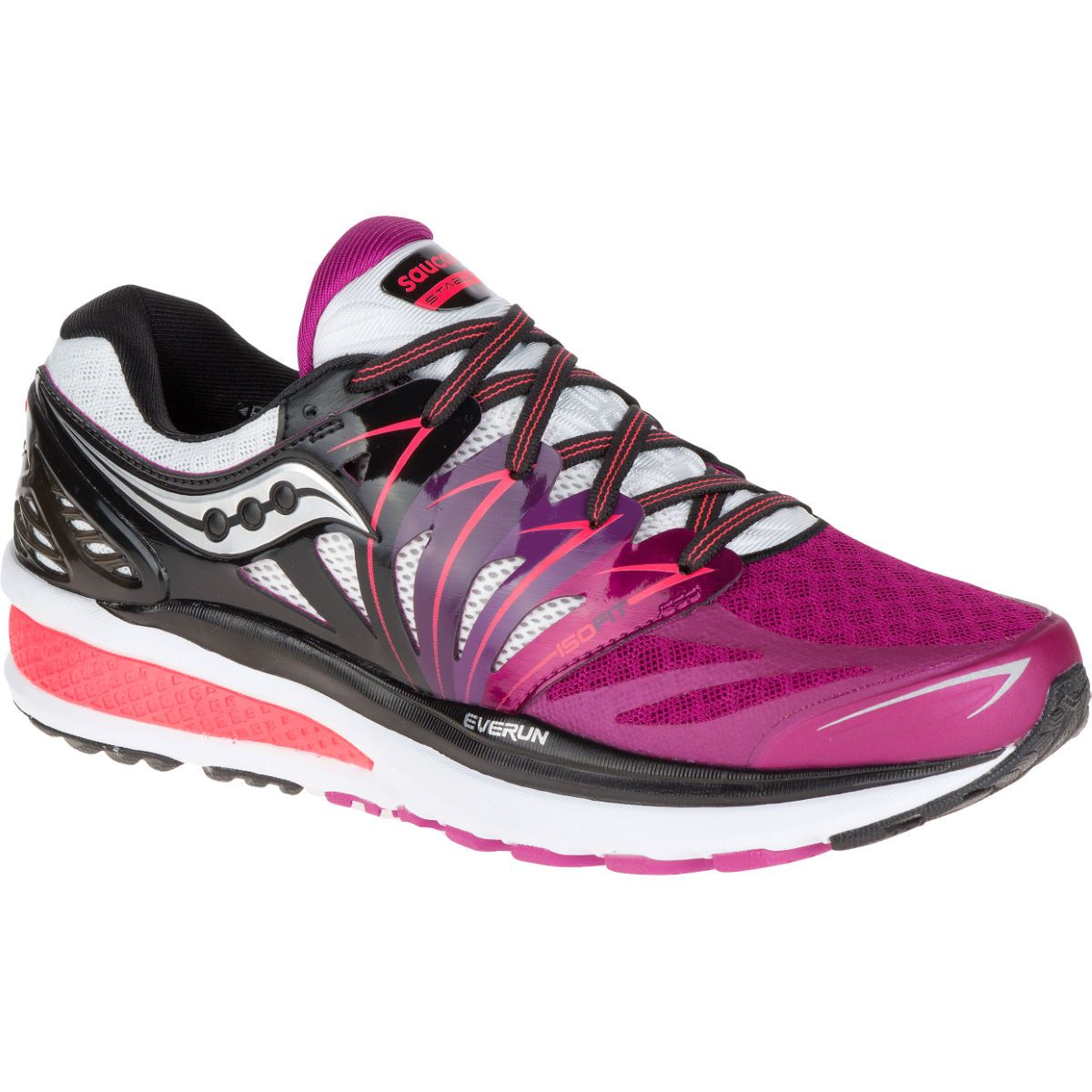 Saucony Women's Hurricane ISO 2 Shoes (SS16) Stability Running Shoes