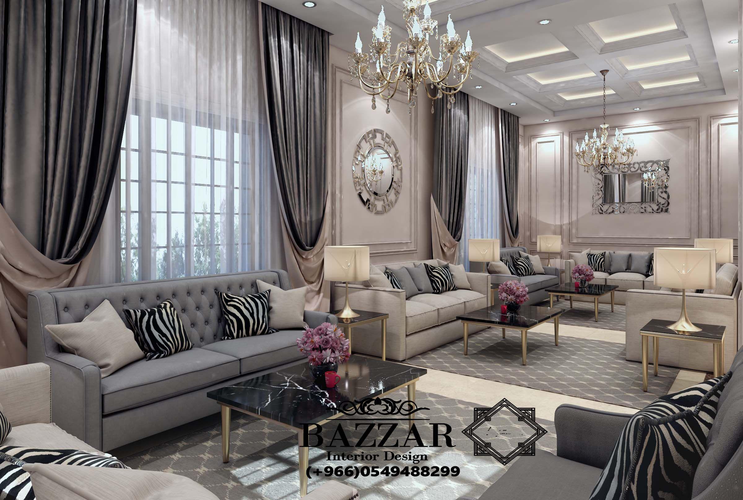 مجلس رجال بازار للتصميم الداخلي و الديكور Big Living Room Design Home Design Living Room Home Room Design