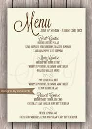 image result for formal dinner menu example cafe formal dinner