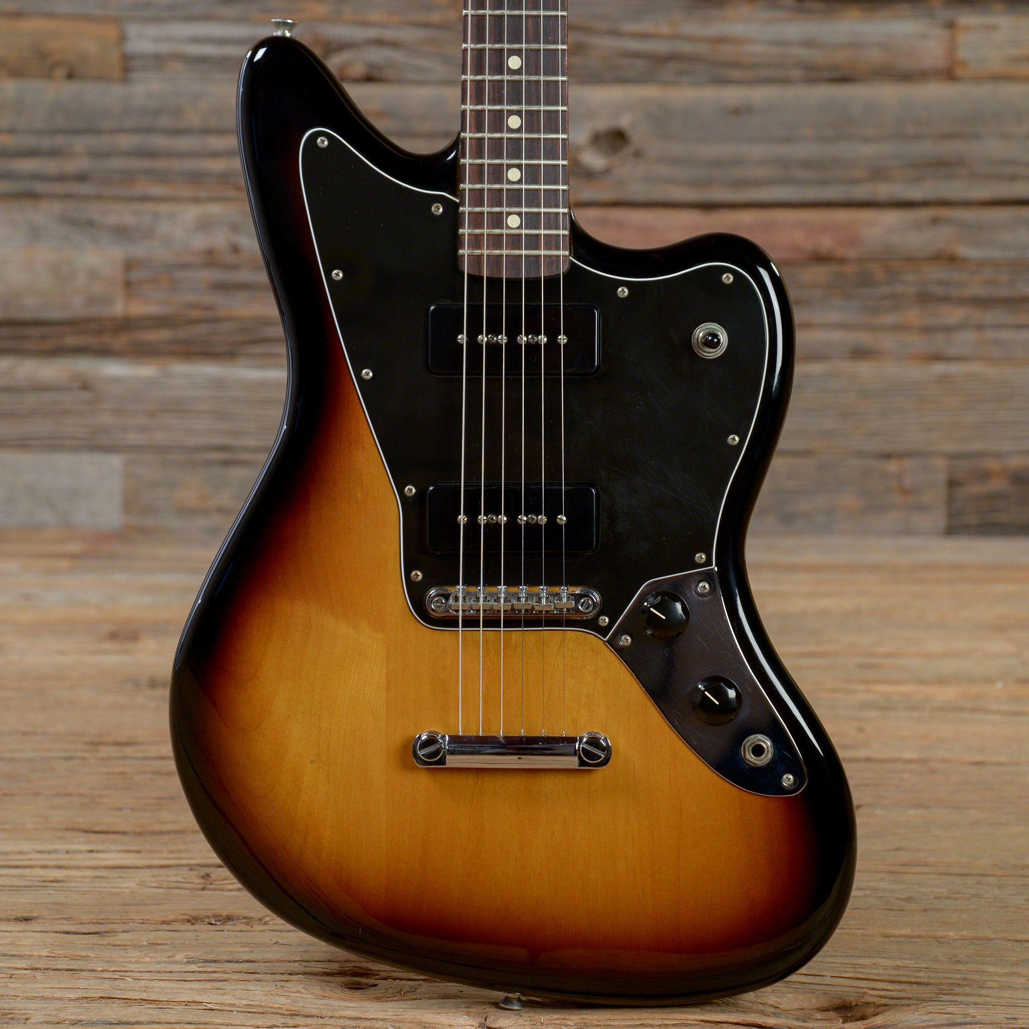 Fender Blacktop Jaguar 90 Sunburst 2011 S122