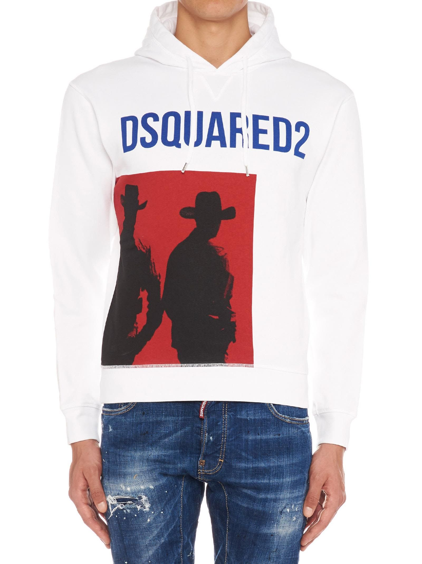 ab2b2cd8c0d3af DSQUARED2 'COWBOY' HOODIE. #dsquared2 #cloth | Dsquared2 | Hoodies ...