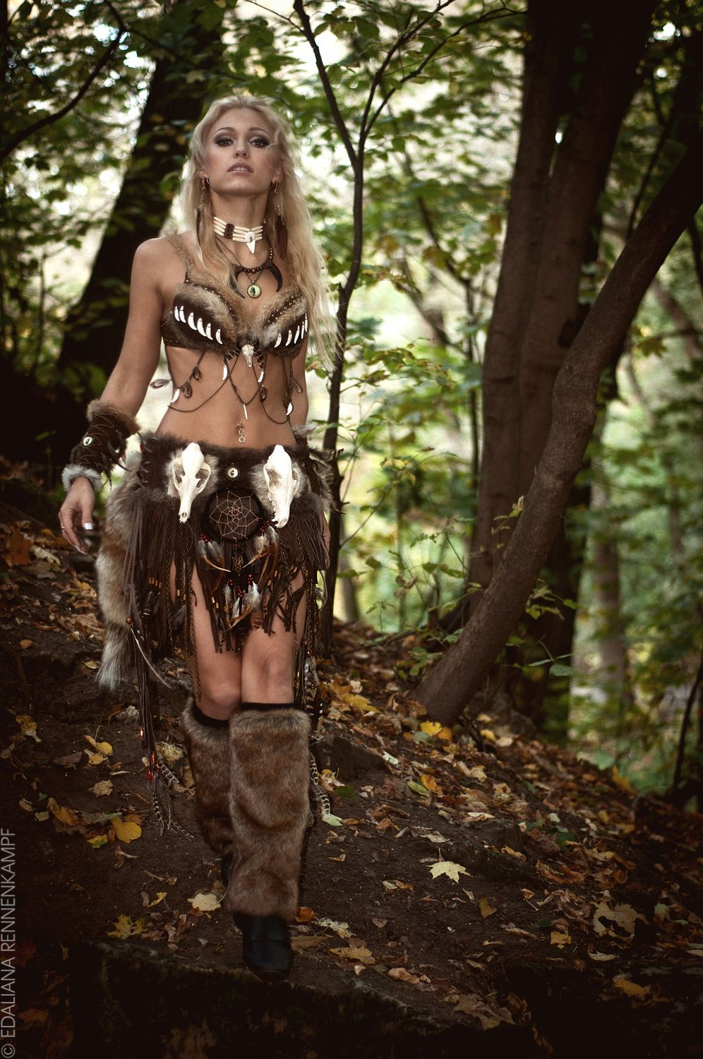amazon warrior cave woman larp fantasy cosplay | other