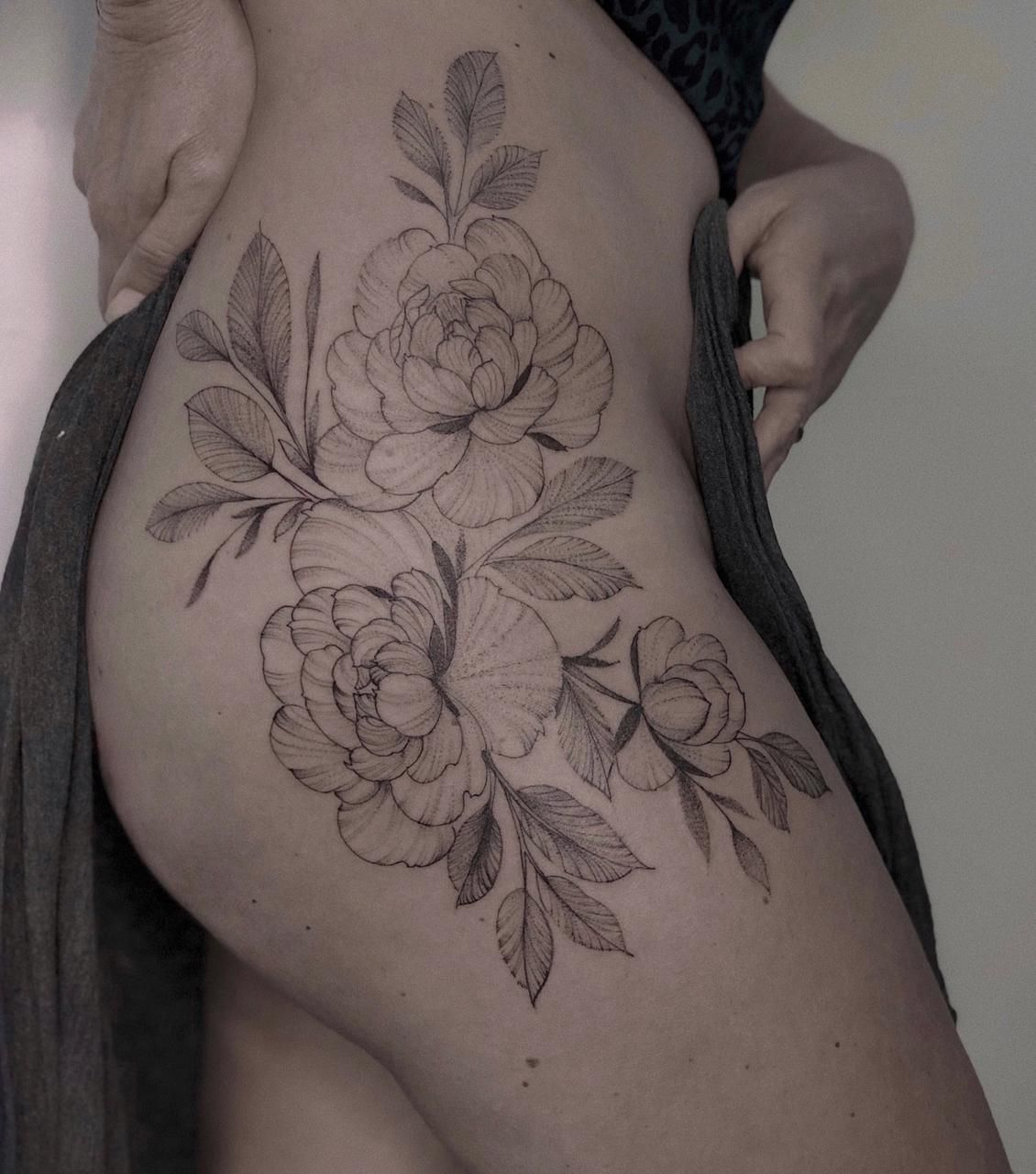 Flower Tattoo by Charlie rose tattoo bali Flower tattoo