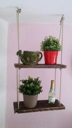 DIY Hängeregal in meiner Küche DIY Pinterest Inspiration