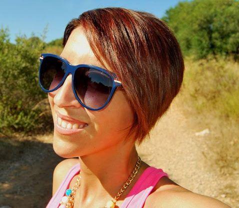 María Pellicer (jewelstyle.blogspot.com/) con nuestras gafas Tommy Hilfiger (http://www.andorraqshop.es/gafas/tommy-hilfiger.html)