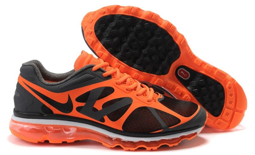 tout neuf 13f50 c6d77 Anthracite Orange White Black Nike Air Max 2012 Men's ...