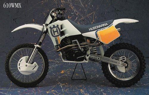 1988 Husqvarna 610 Motorcross Bike Motocross Bikes Husqvarna