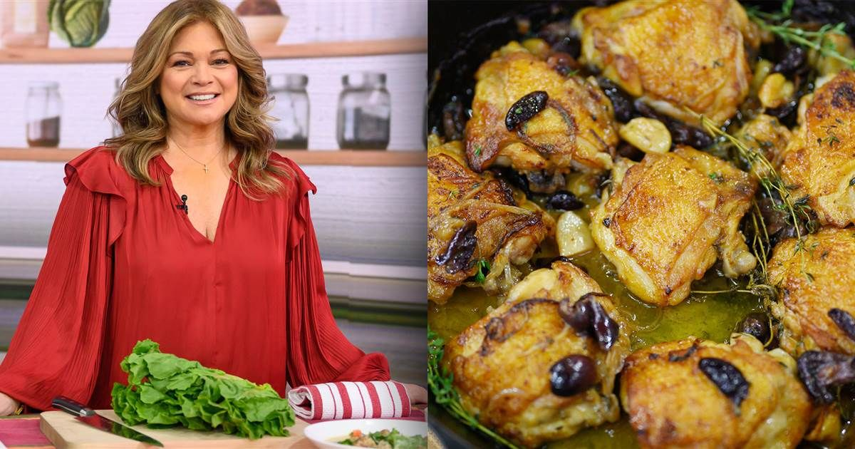 5 of Valerie Bertinelli's easiest and most flavorful chicken recipes #valeriebertinellirecipes