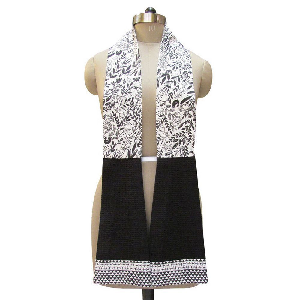 Black & White Kitchen Boa Tea Towel | Aprons | Pinterest | Boas ...