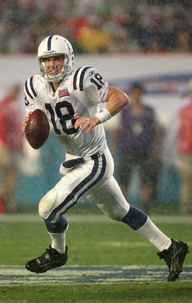 Peyton Manning (QB) Colts - First Year: 1998 - Career: 11 seasons - Drafted: Round 1, Pick 1