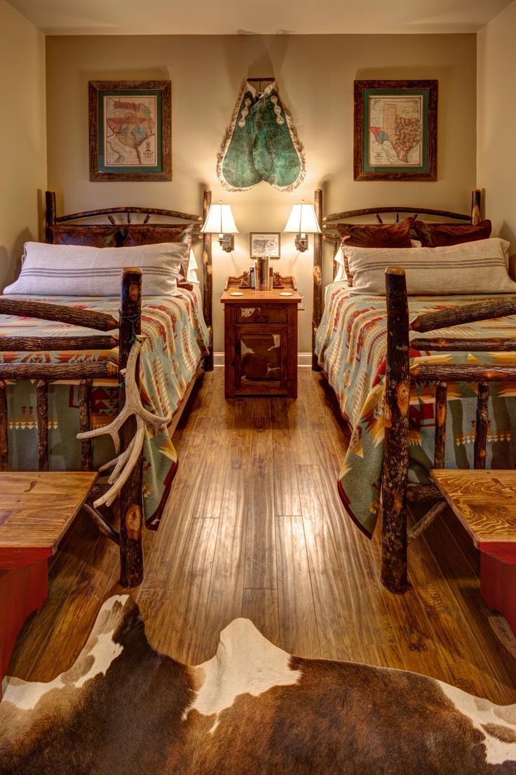 Southwestern Styles Bedroom Design Lodge Style Bedroom Rustic House Western Home Decor
