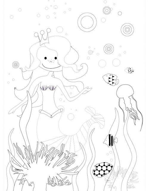 Meerjungfrau Party Spiele Deko Rezepte Fur Kleine Meerjungfrauen Meerjungfrau Meerjungfrau Party Ausmalbilder Zum Ausdrucken Kostenlos