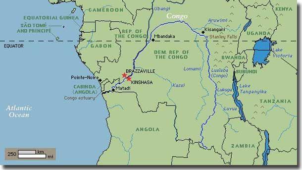 Map of congo river oceanawaterwaterwater pinterest map of congo river sciox Images