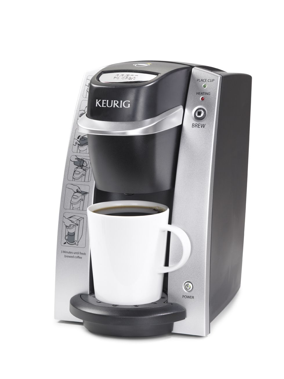 The Keurig B130 DeskPro is a compact and convenient one
