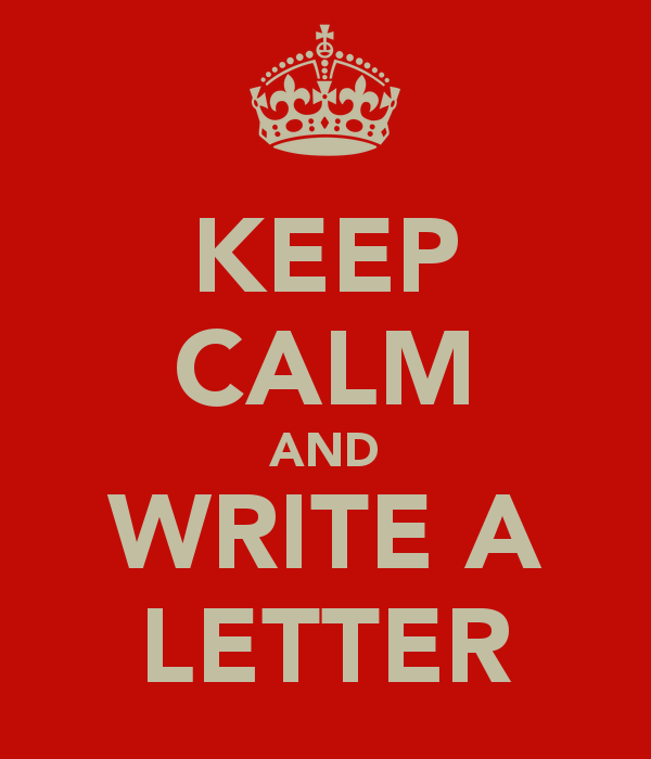 Keep Calm And Write A Letter  Words    Keep Calm Ps