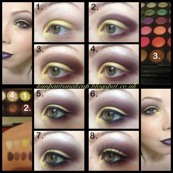 Acid And Wine Pictorial Makeup Pinterest Make Up