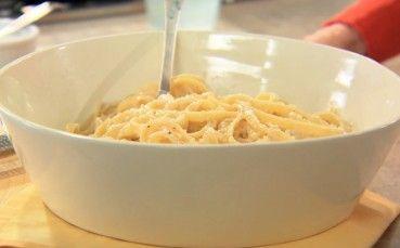 Creamy Fettucine Alfredo Dish