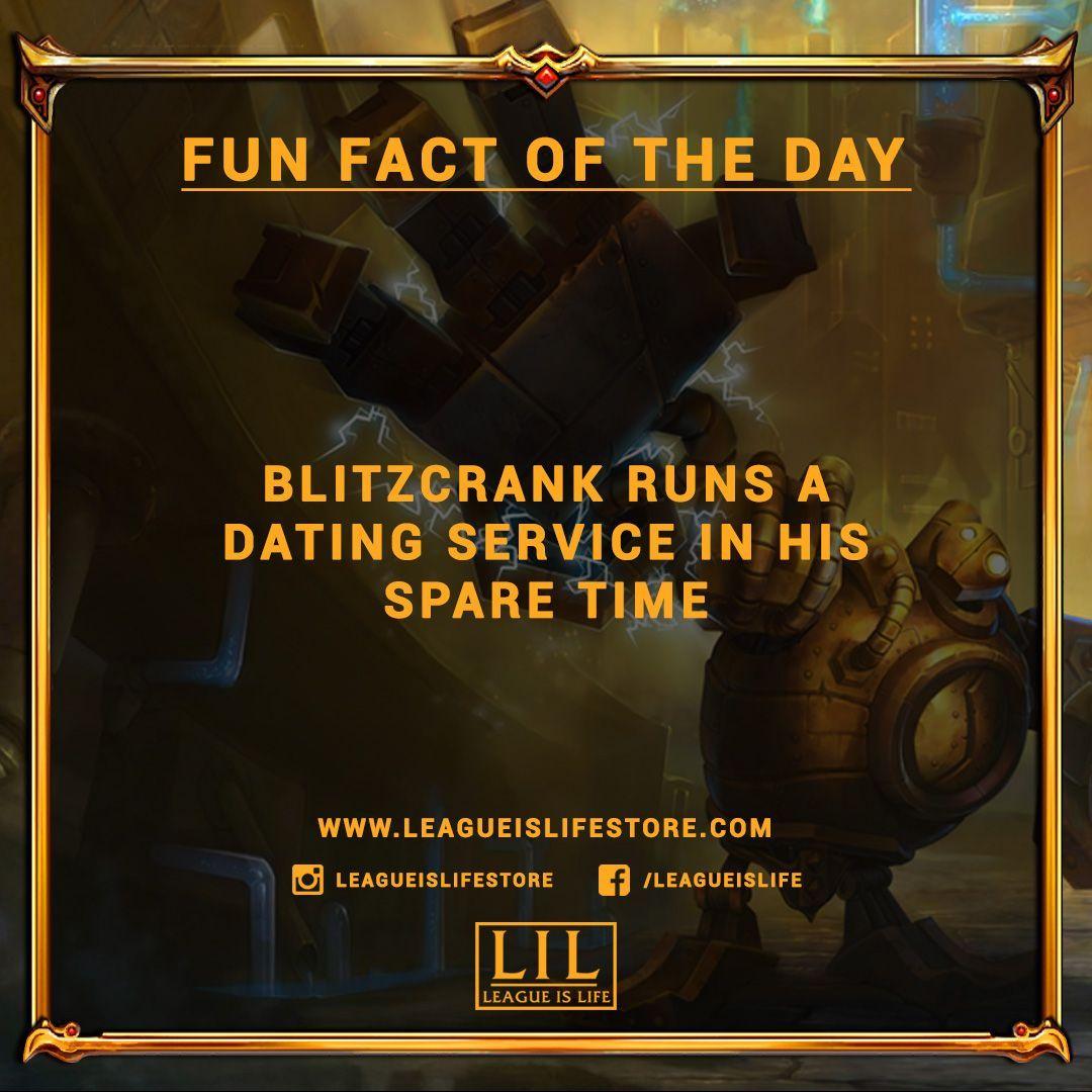 Did You Know Blitzcrank Runs A Dating Service