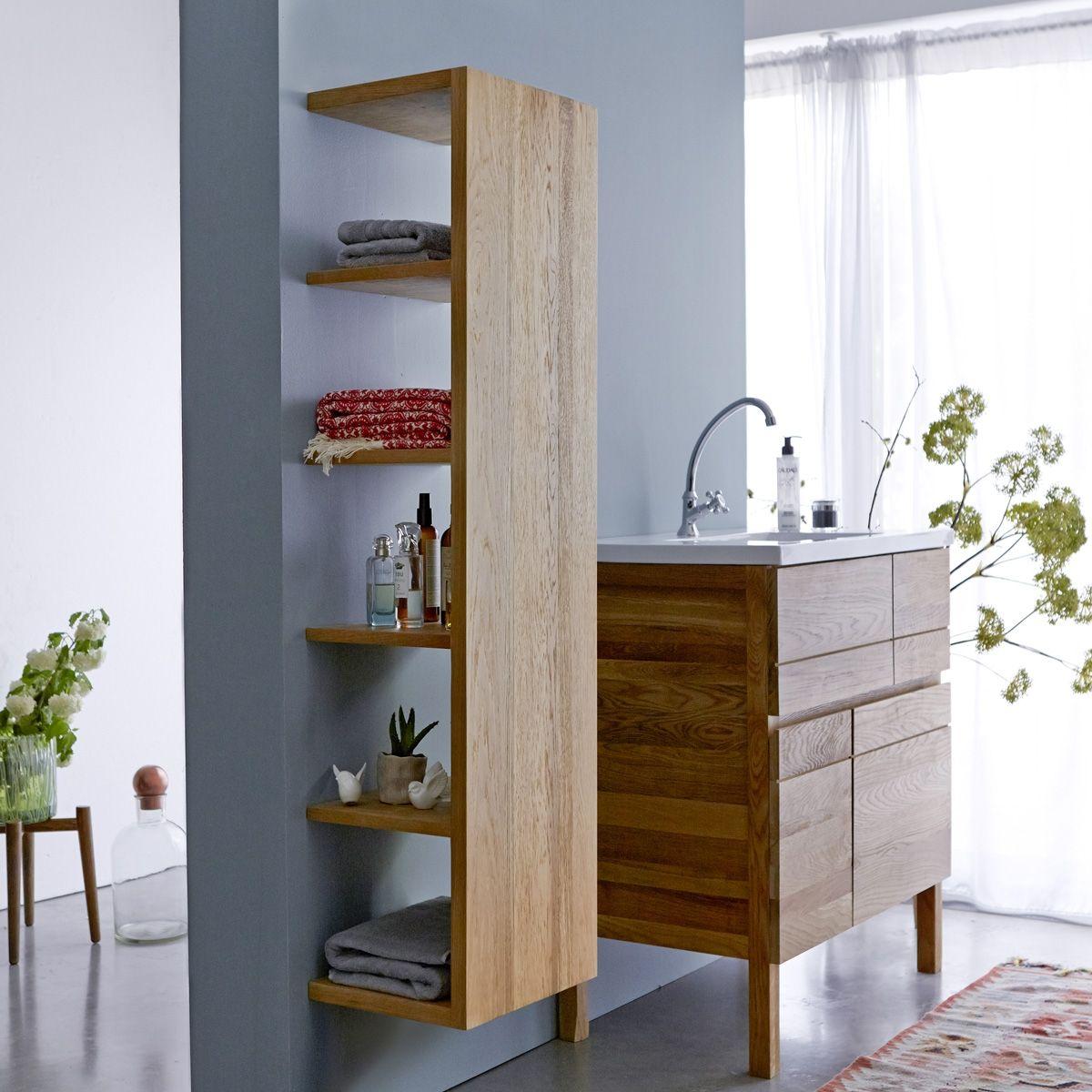Badschrank Aus Eiche Easy 35 Bathroom Furniture Home Decor Home