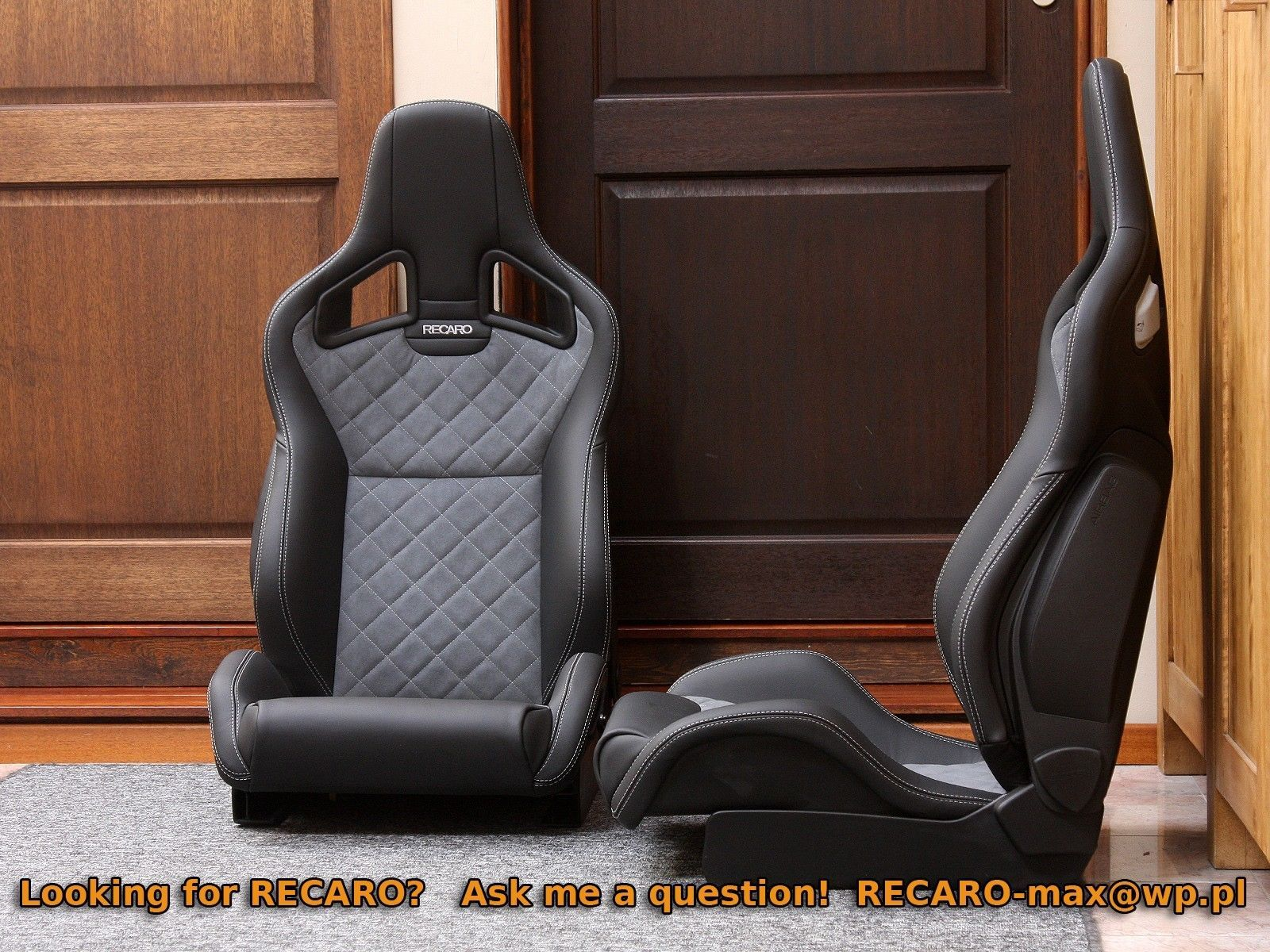 Recaro Sportster Cs Airbag Many Options Bmw Sti Evo Porsche Mustang R8 Etc Ebay Recaro Sportster Bmw