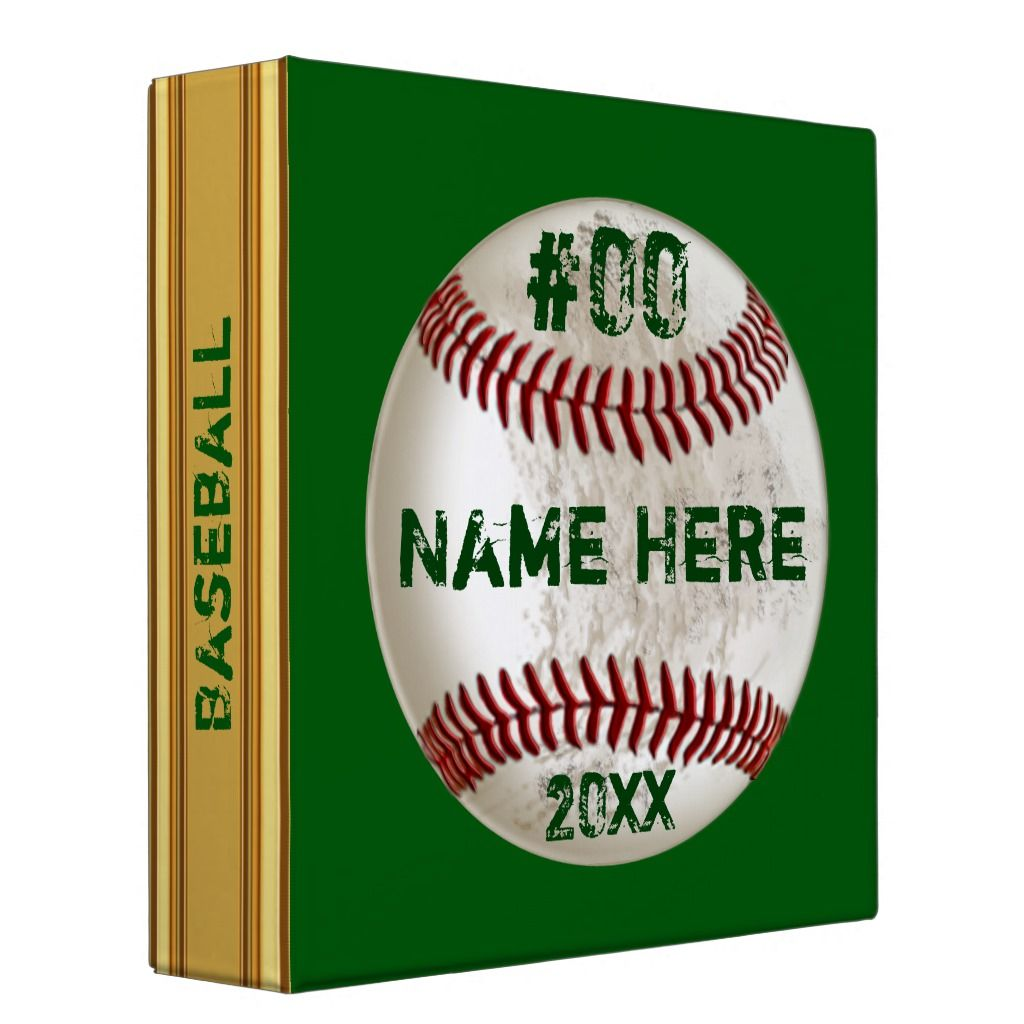 Personalized Gifts For Baseball Card Collectors 3 Ring